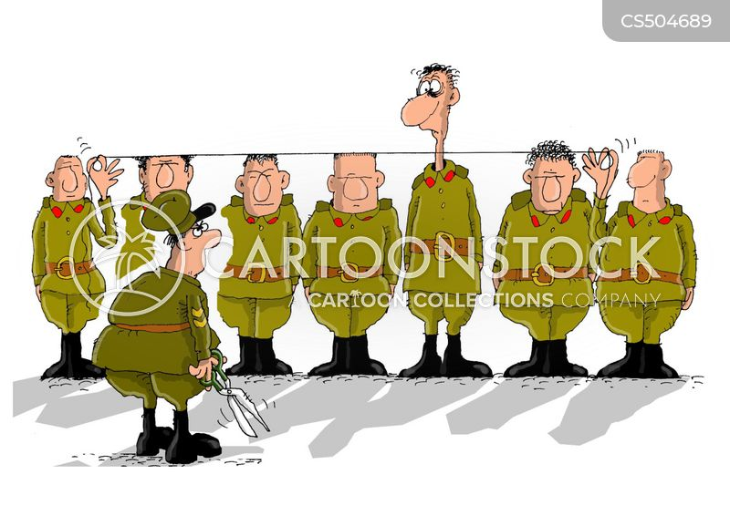 military parades cartoon