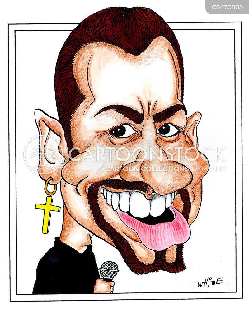 andrew ridgeley cartoon