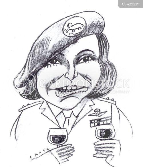 war hero cartoon