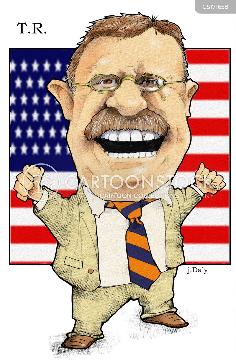 american presidents cartoon