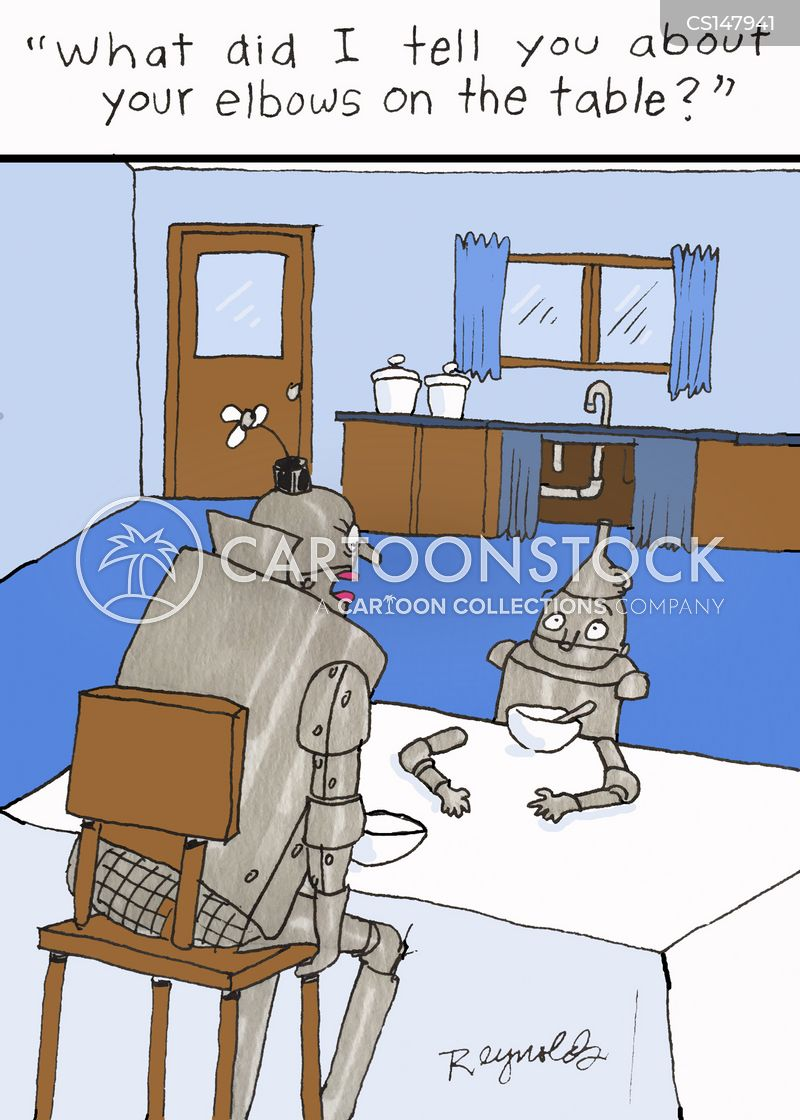 tin men cartoon