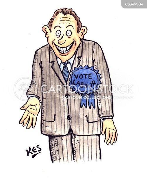 right wing views cartoon