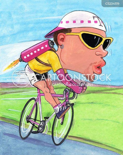 doping scandals cartoon
