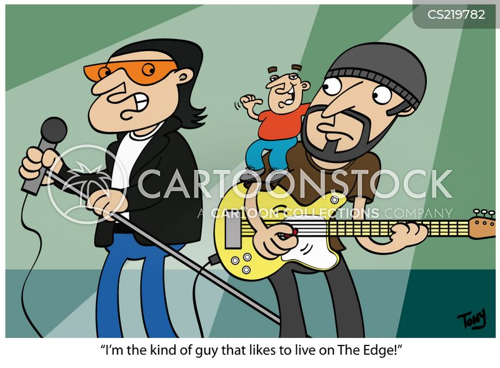 rock group cartoon