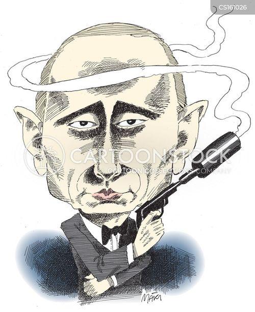 president putin cartoon