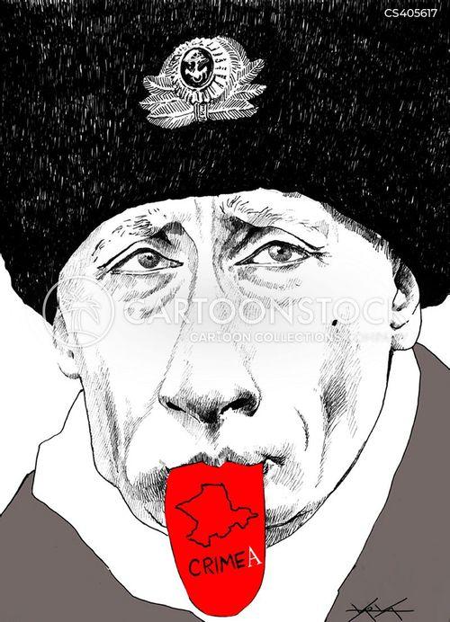 president of russia cartoon