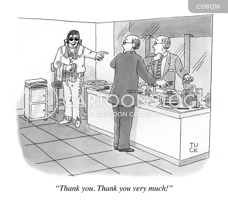 bathroom attendants cartoon