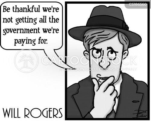 will rogers cartoon
