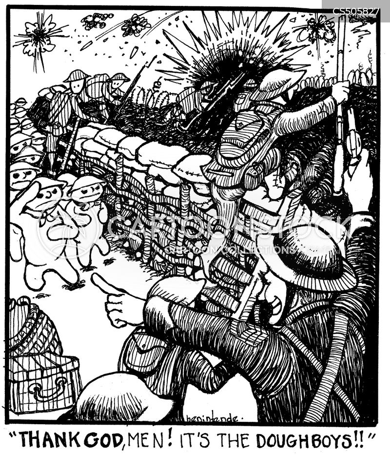 american expeditionary force cartoon
