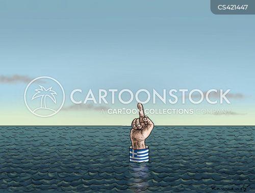 greece bailout cartoon