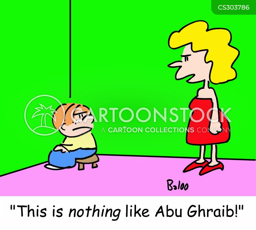 abu ghraib cartoon
