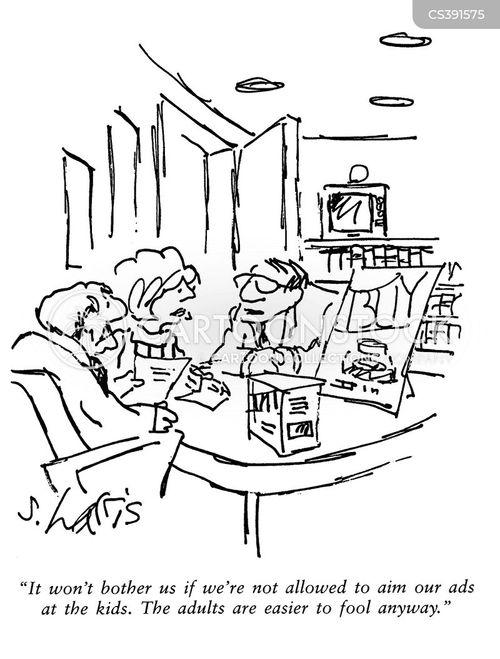 advertising agencies cartoon