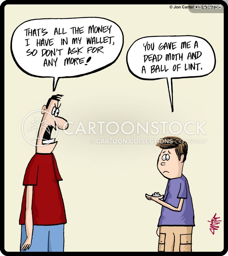 pocketmoney cartoon