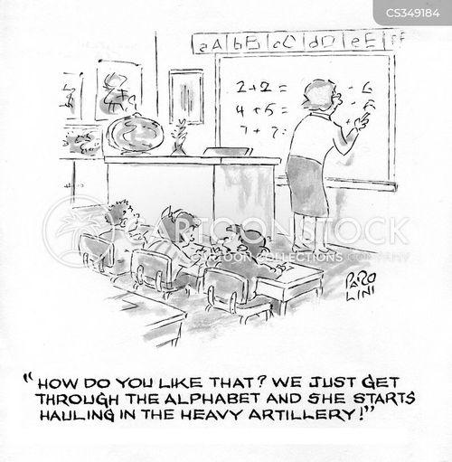 first grade cartoon