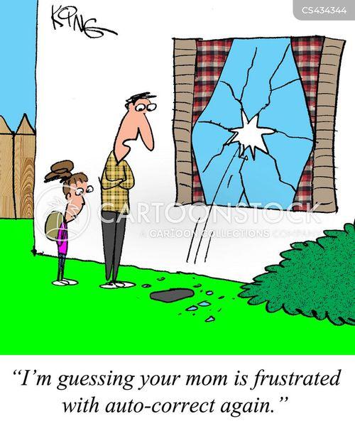 autocorrects cartoon