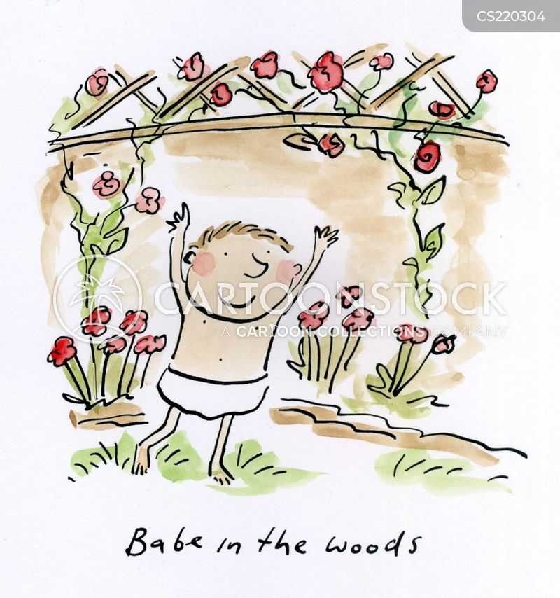 babes in the wood cartoon