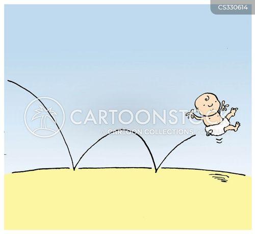 bouncy cartoon