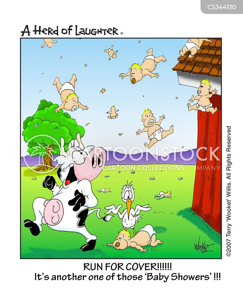 Baby Shower Cartoon Images ~ Baby shower cartoons and comics funny pictures from