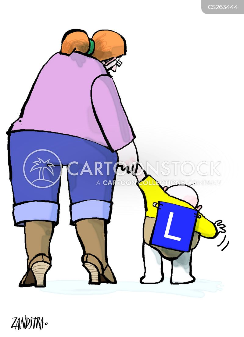 l plate cartoon