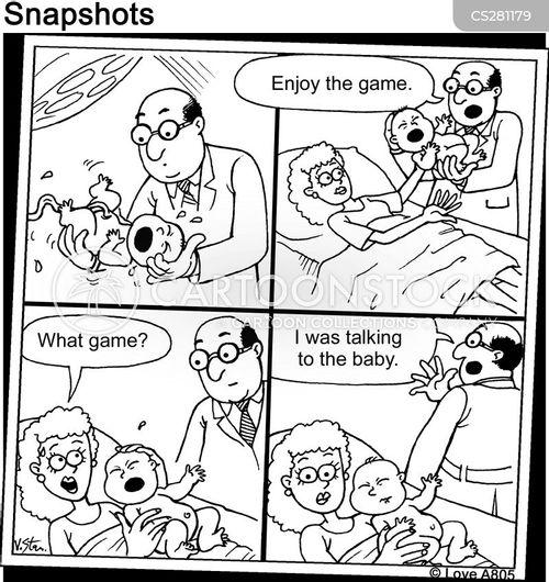 in-joke cartoon