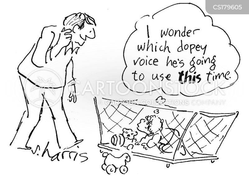 crib cartoon