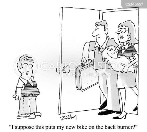 second child cartoon
