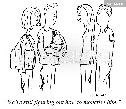 monetize cartoon