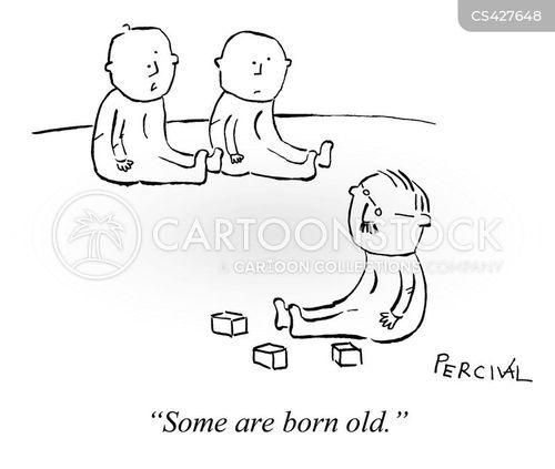 maturity levels cartoon