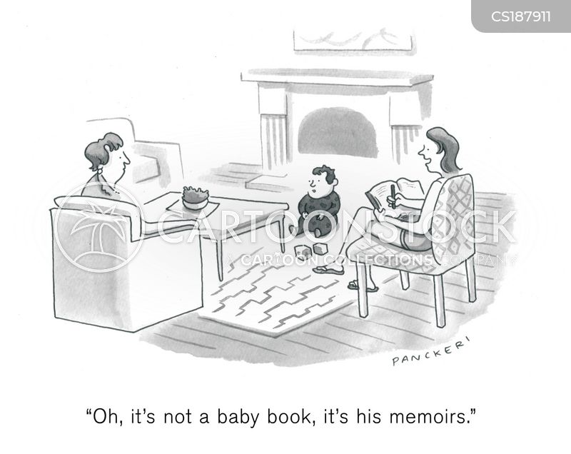 biographers cartoon