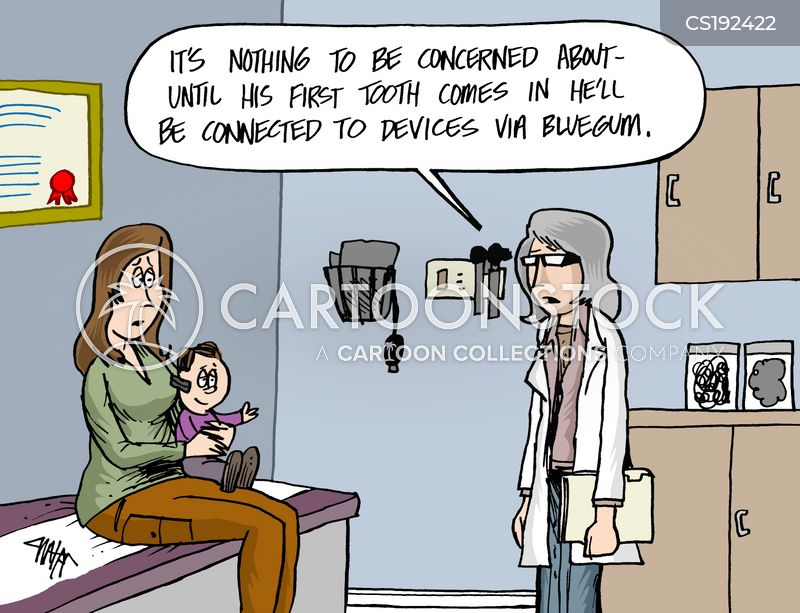 mobile devices cartoon