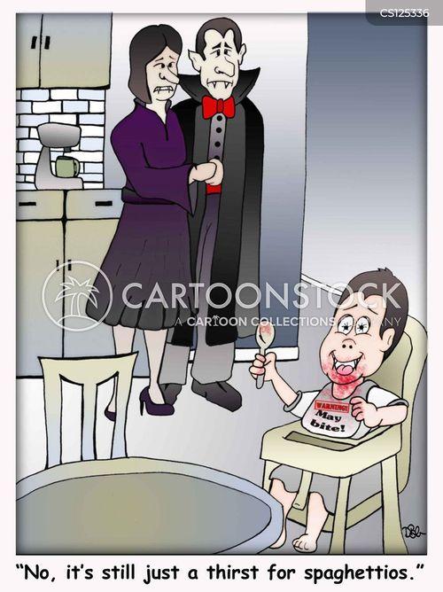 weaning foods cartoon
