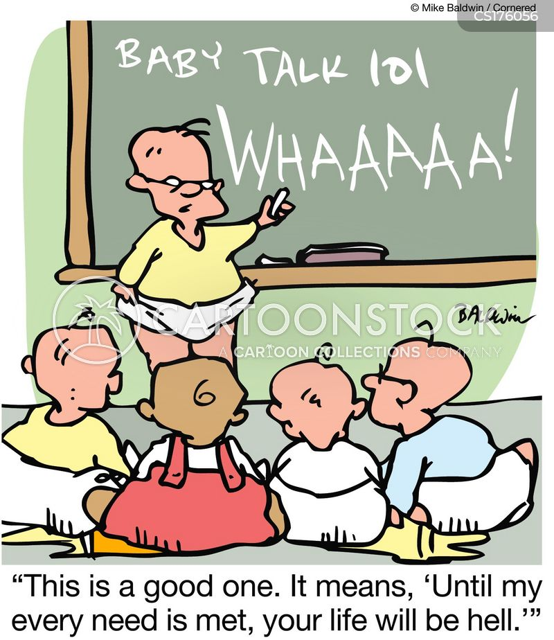 baby speak cartoon