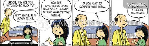 extorts cartoon