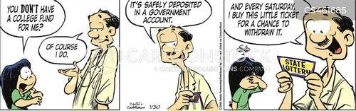 university tuition cartoon
