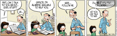 communication issues cartoon