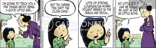 motherly advice cartoon