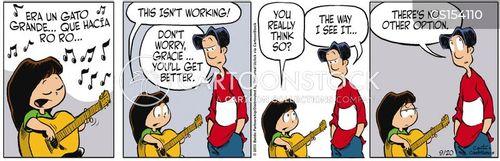 bad singers cartoon