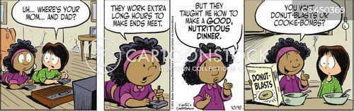 working parent cartoon