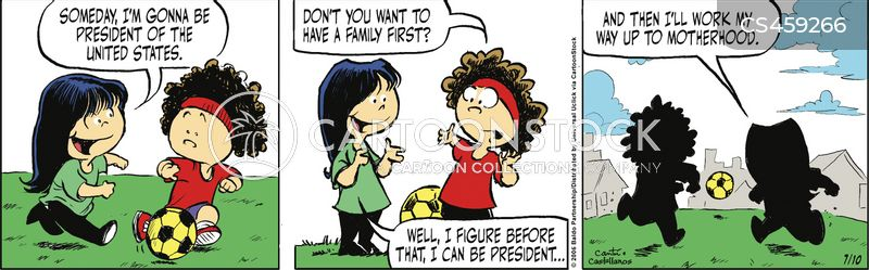 presidential ambition cartoon