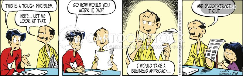 subcontracting cartoon