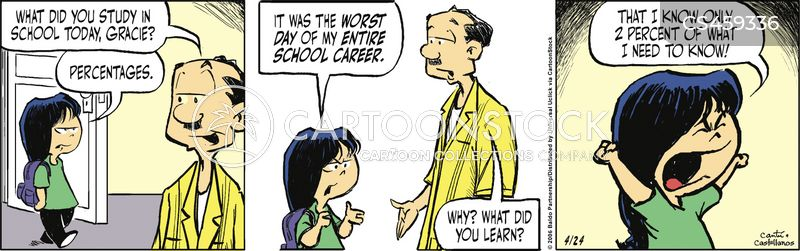 gifted student cartoon