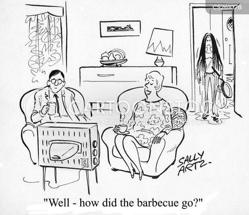 barbecued cartoon