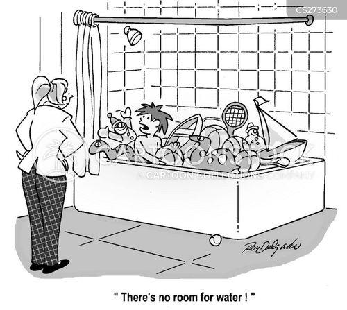 bath toy cartoon