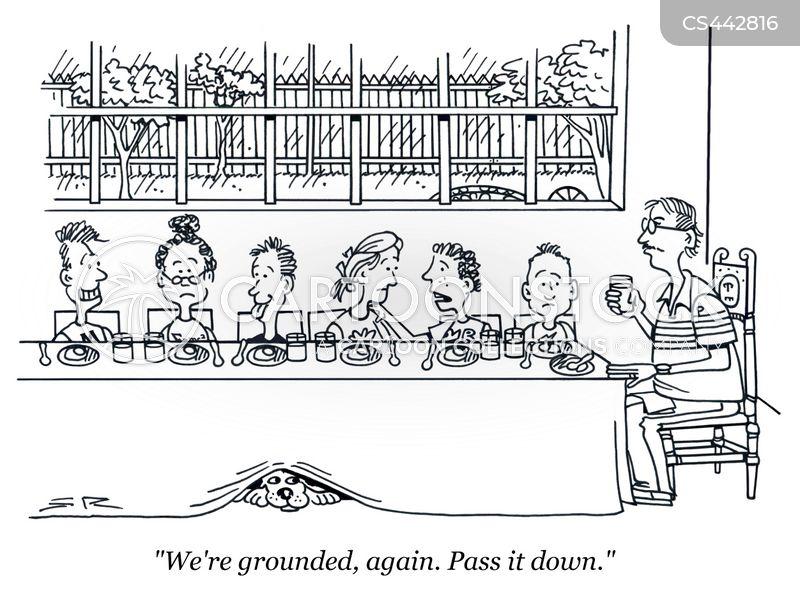 grounding cartoon