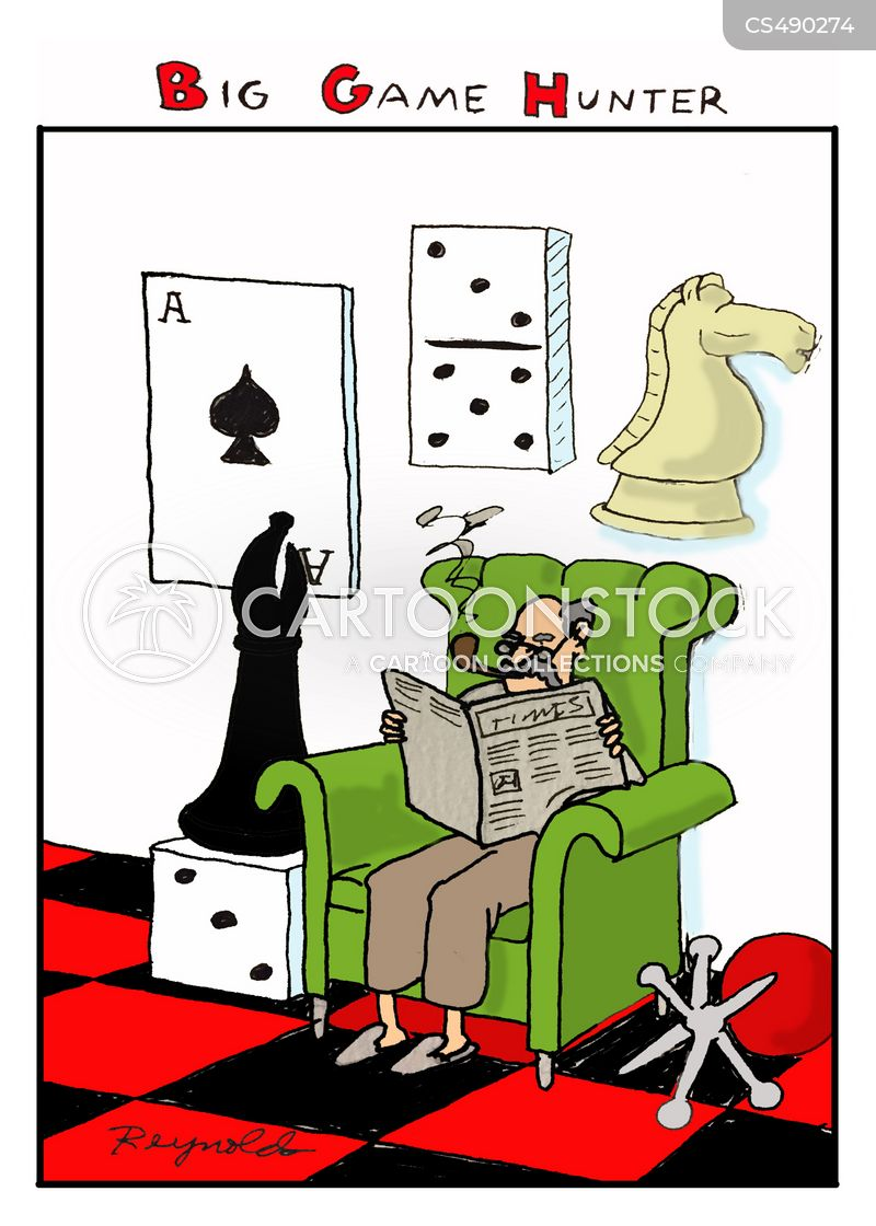 card-games cartoon