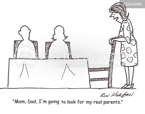 adoptive parents cartoon