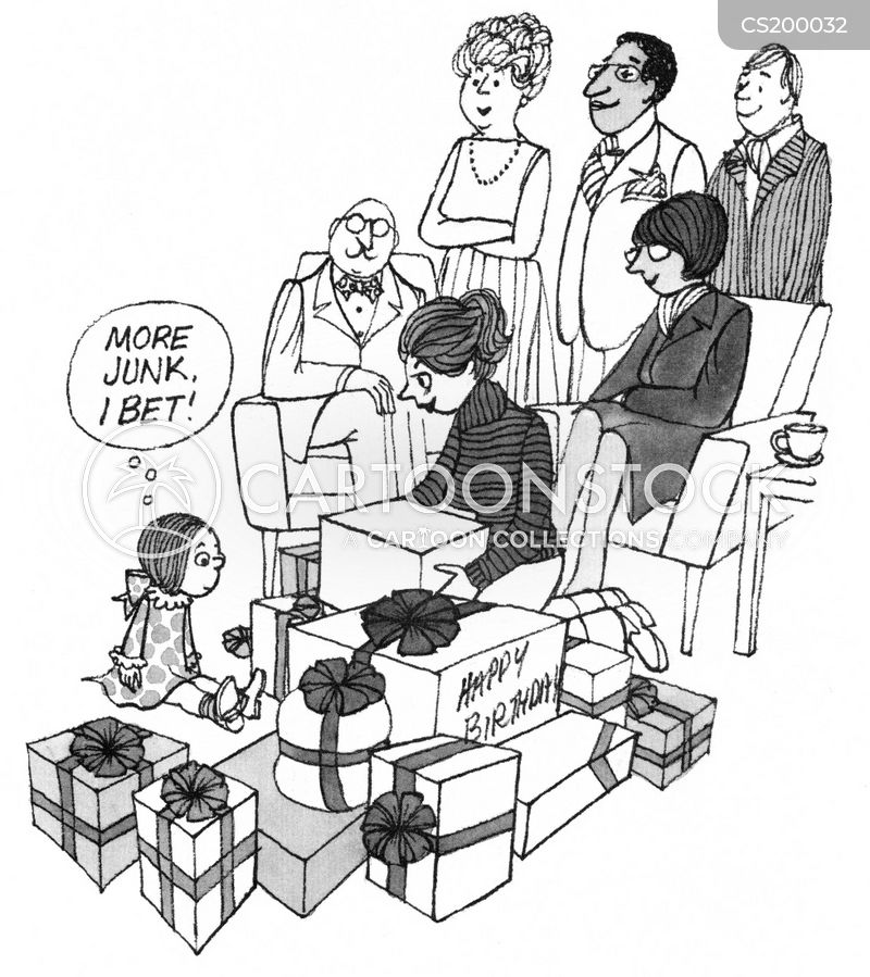 Birthday Presents Cartoons And Comics Funny Pictures From Cartoonstock