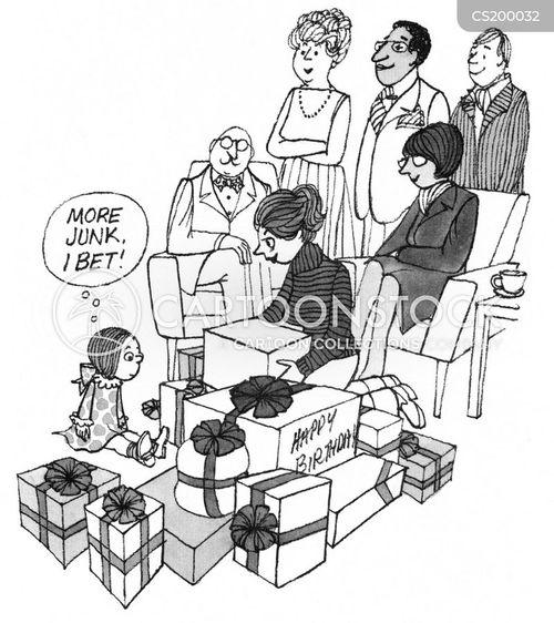 nasty presents cartoon