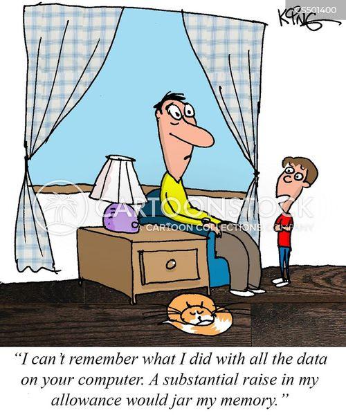 ransoming cartoon