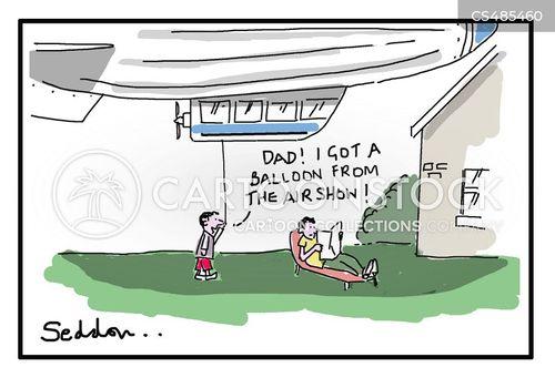 airshow cartoon